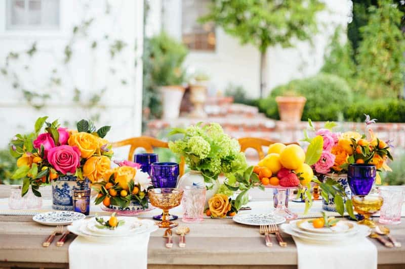 7. Jodee Debes Photography - Dish Wish & Love Detailed - Mark's Garden - La Tavola Linens