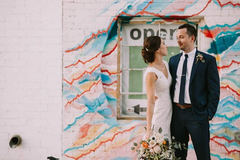A PERSONALIZED & RUSTIC WEDDING IN A DOWNTOWN PHOENIX ART GALLERY (13)