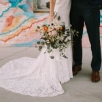THIS IS WHY ONE BRIDE THREW OUT THE SEATING PLAN FOR HER RUSTIC WEDDING IN DOWNTOWN PHOENIX