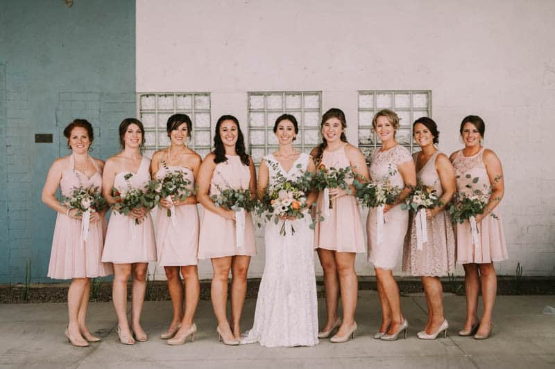 A PERSONALIZED & RUSTIC WEDDING IN A DOWNTOWN PHOENIX ART GALLERY (27)