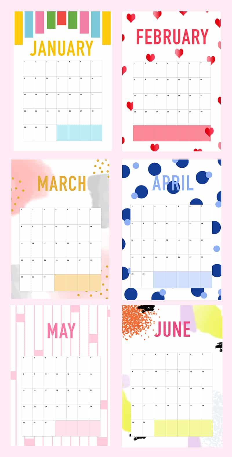 Diy Yearly Calendar : Printable diy wedding planner organiser with calendar