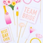 PRINTABLE BRIDAL SHOWER & HEN PARTY PHOTO BOOTH PROPS