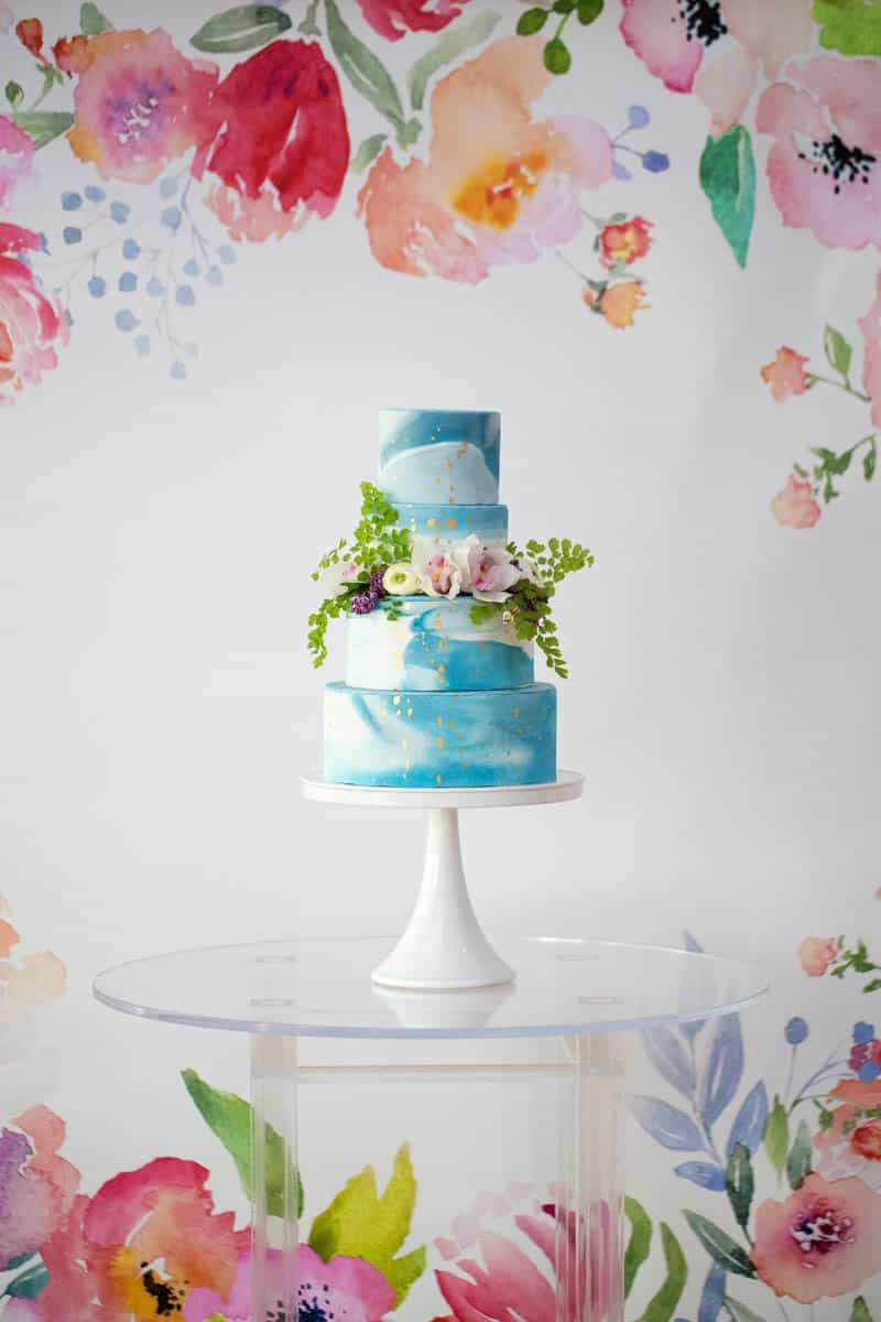 UNIQUE PANTONE WATERCOLOR WEDDING IDEAS (16)