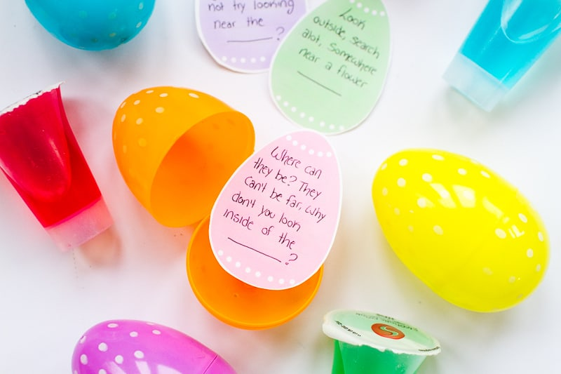 Adult Easter Egg Hunt Boozy Shots DIY Free Printable Clues Fun Easter Party Games Ideas Alchohol Shooters-20