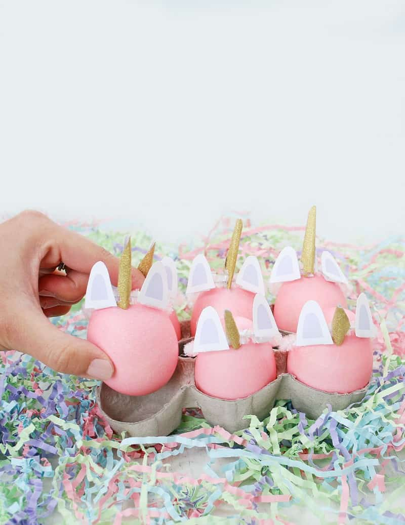 DIY-Unicorn-Easter-Eggs - LOVE VIVIDLY