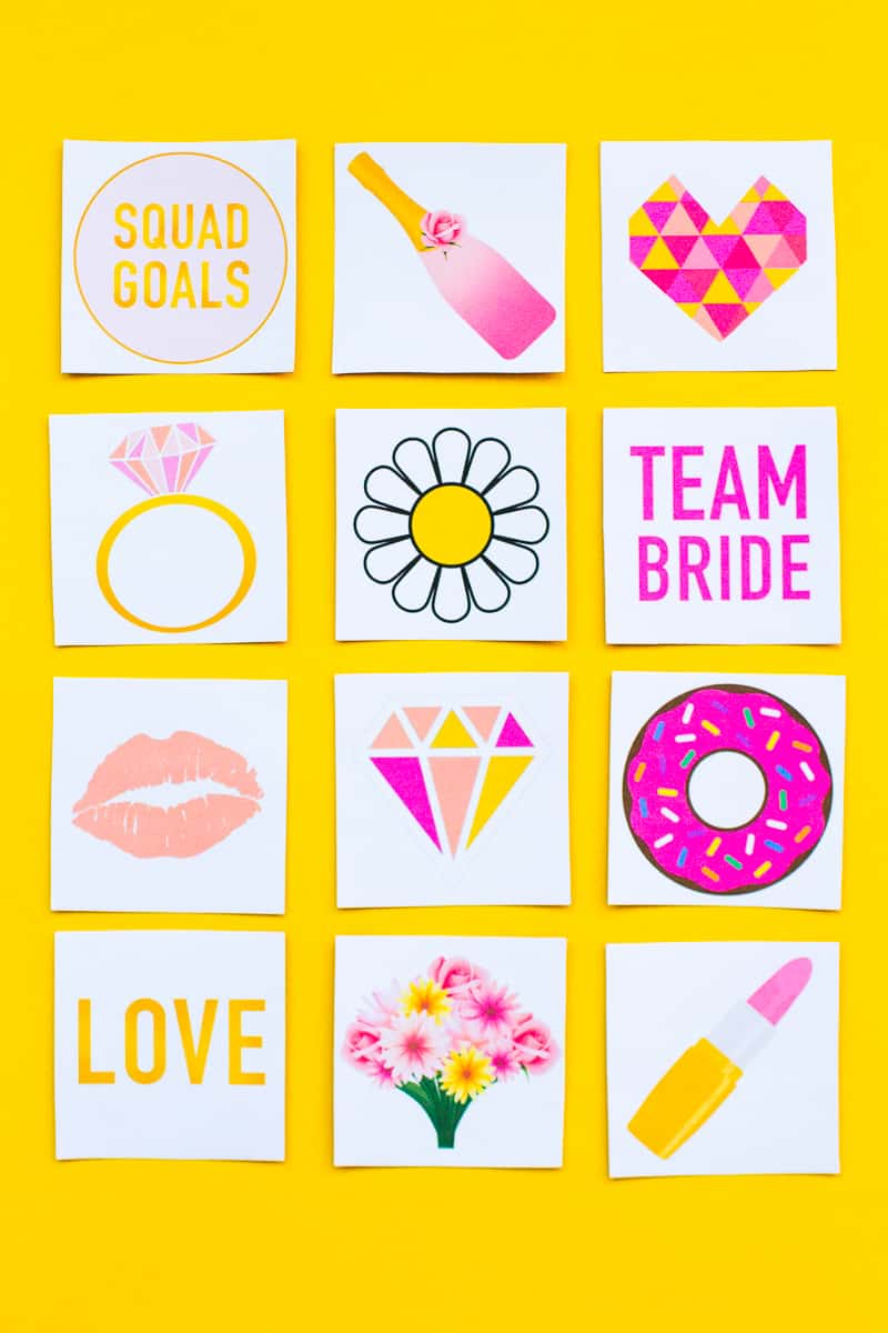picture regarding Bridal Games Printable known as Totally free PRINTABLE BRIDAL SHOWER MEMORY Video game Bespoke-Bride