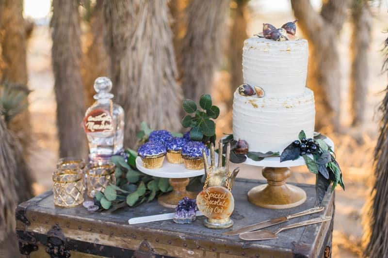 RUSTIC BOHO CRYSTAL WEDDING IDEAS WITH AMETHYST QUARTZ (10)