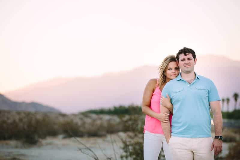 SWEET PASTEL PINK PALM SPRINGS ENGAGEMENT SESSION (10)