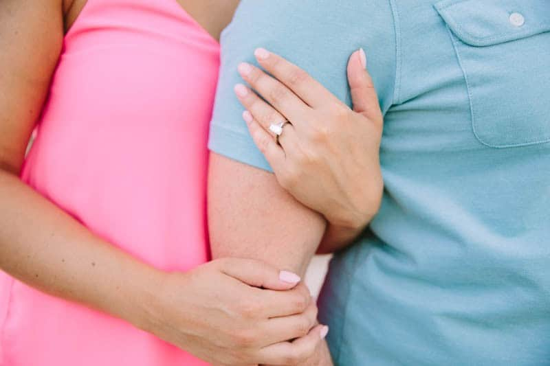 SWEET PASTEL PINK PALM SPRINGS ENGAGEMENT SESSION (11)