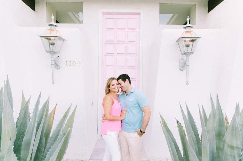 SWEET PASTEL PINK PALM SPRINGS ENGAGEMENT SESSION (4)