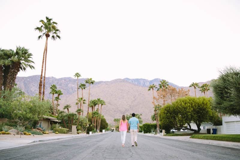 SWEET PASTEL PINK PALM SPRINGS ENGAGEMENT SESSION (5)
