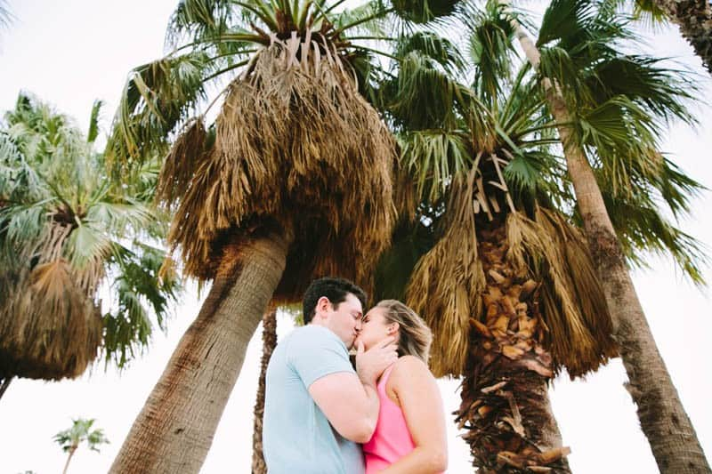 SWEET PASTEL PINK PALM SPRINGS ENGAGEMENT SESSION (7)
