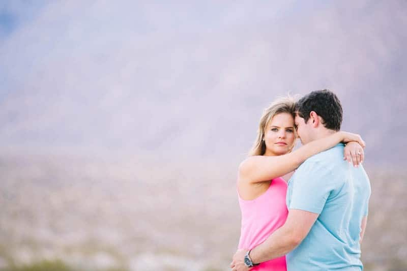 SWEET PASTEL PINK PALM SPRINGS ENGAGEMENT SESSION (8)