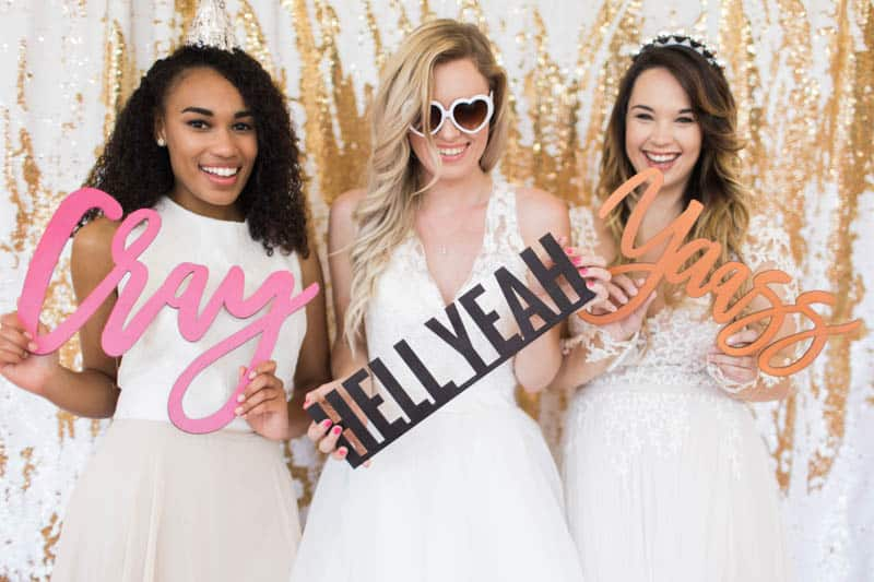 UNIQUE PHOTO BOOTH STYLING IDEAS FOR A WEDDING BACHELORETTE OR HEN PARTY (27)