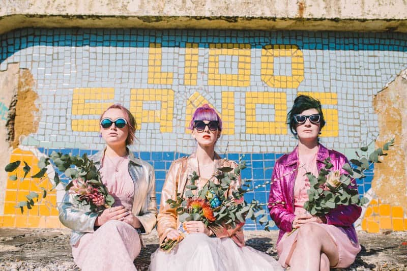 ALTERNATIVE UNIQUE ROCK N ROLL WEDDING DRESSES FOR BAD ASS BRIDES (17)