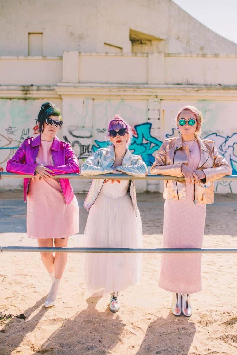 ALTERNATIVE UNIQUE ROCK N ROLL WEDDING DRESSES FOR BAD ASS BRIDES (9)