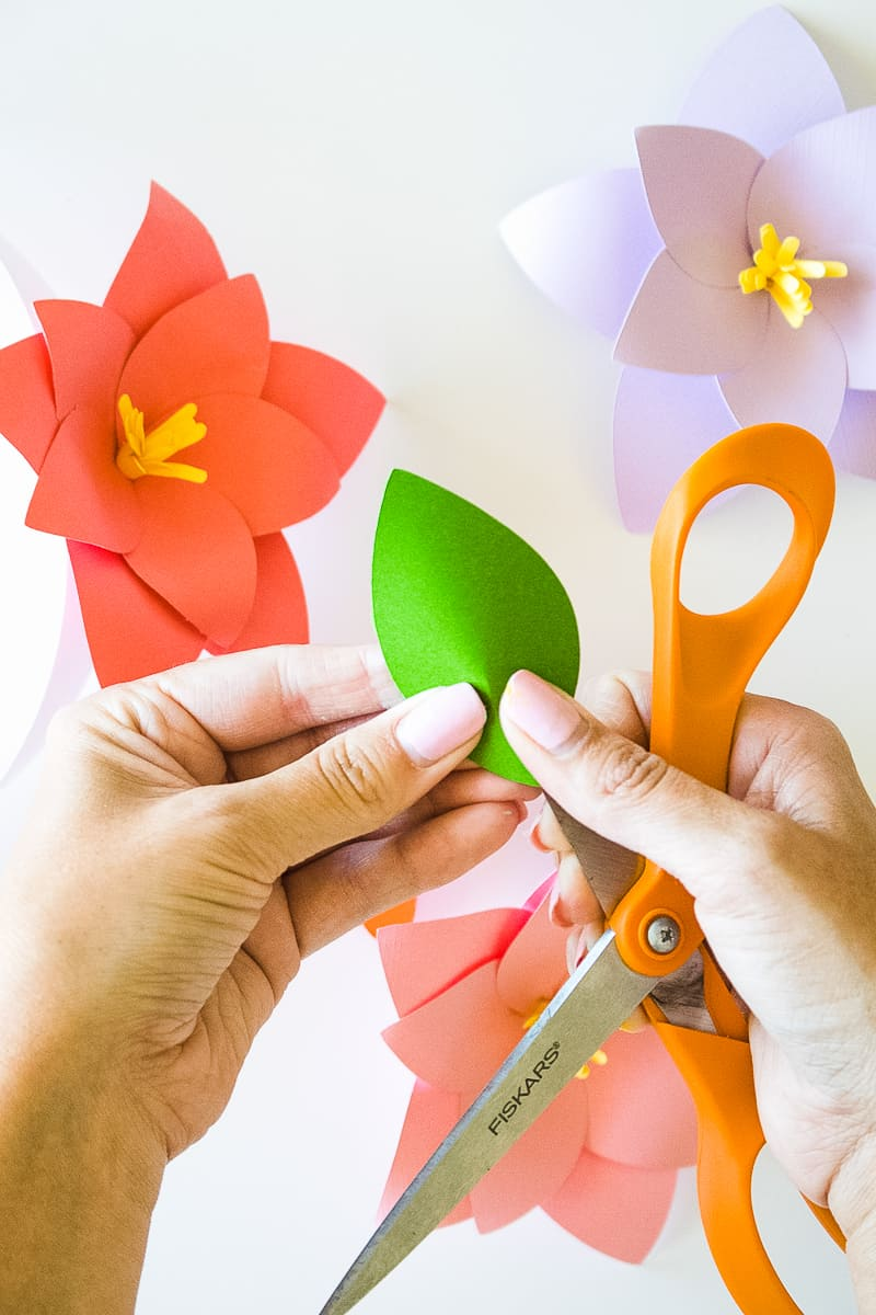 DIY Paper Flower Crown Make Your Own Colourful Fun Headpiece Papercraft-10