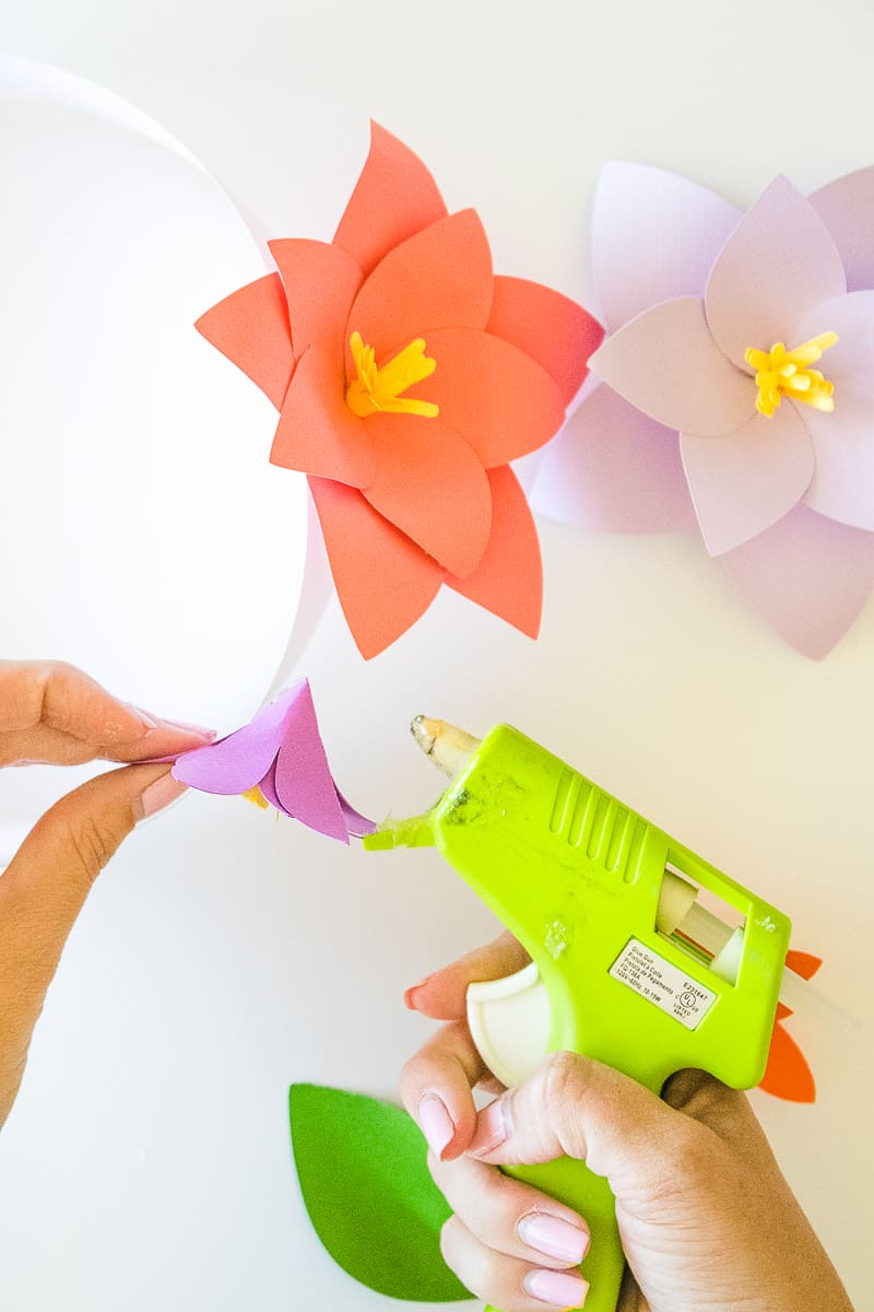 DIY Paper Flower Crown Make Your Own Colourful Fun Headpiece Papercraft-11