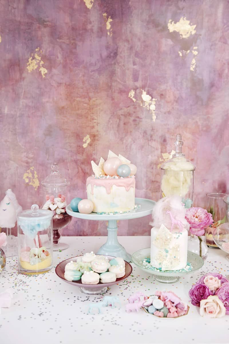 SWEET PINK PASTEL UNICORN BRIDAL SHOWER HEN PARTY SLEEPOVER (22)
