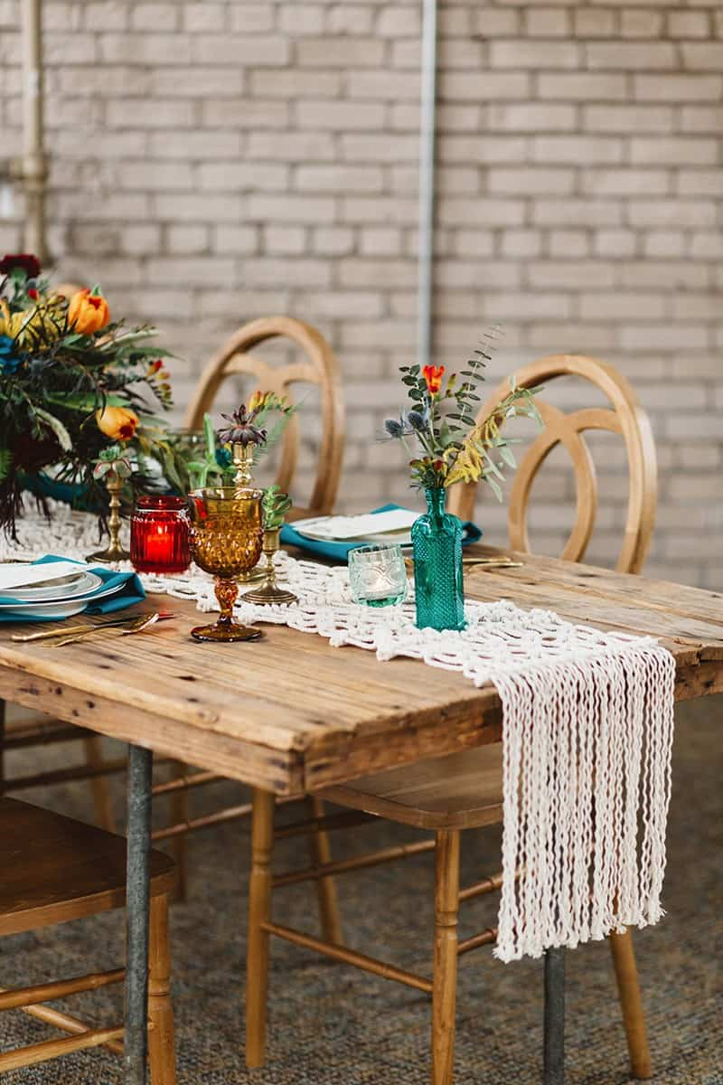 View More: http://aliciamagnusonphoto.pass.us/vintage-boho-styled-shoot-2017