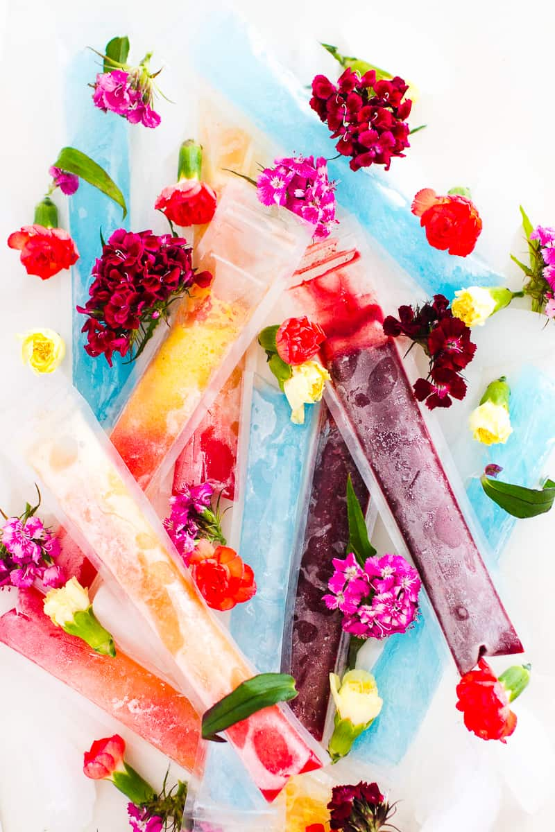 Boozy Adult Ice Pops Ice lollies cocktails moulds tequilla sunrise blue lagoon cherry bomb amaretto summer party BBQ drinks-11