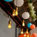 ANYTHING GOES FOR THIS COLOURFUL SPRING WAREHOUSE WEDDING