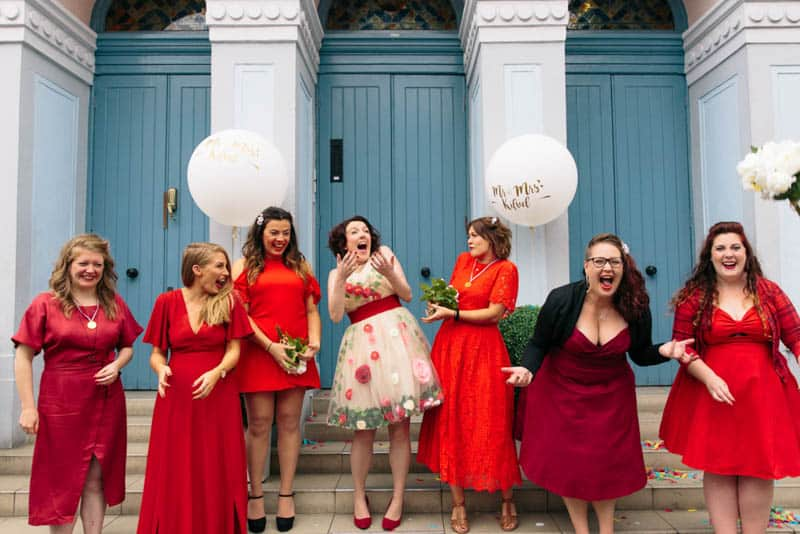 CREATIVE LONDON WEDDING WITH CHOTRONETTE GOWN (15)