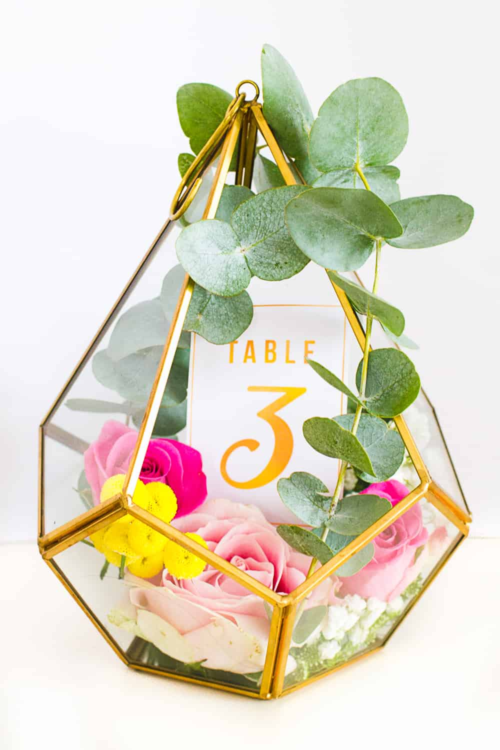 graphic relating to Free Printable Table Numbers identify Do it yourself TERRARIUM Desk Figures GOLD Bespoke-Bride: Wedding ceremony Blog site