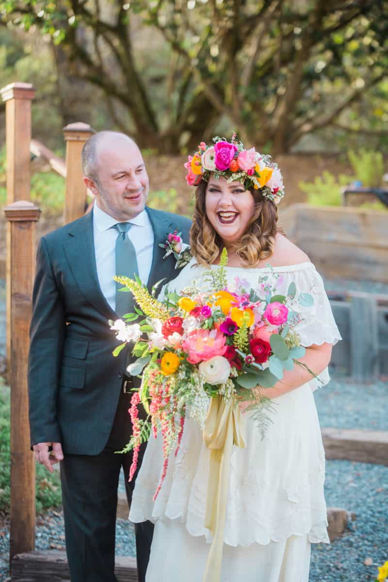 EFFORTLESS BOHEMIAN WEDDING AT MADRONA MANOR (13)