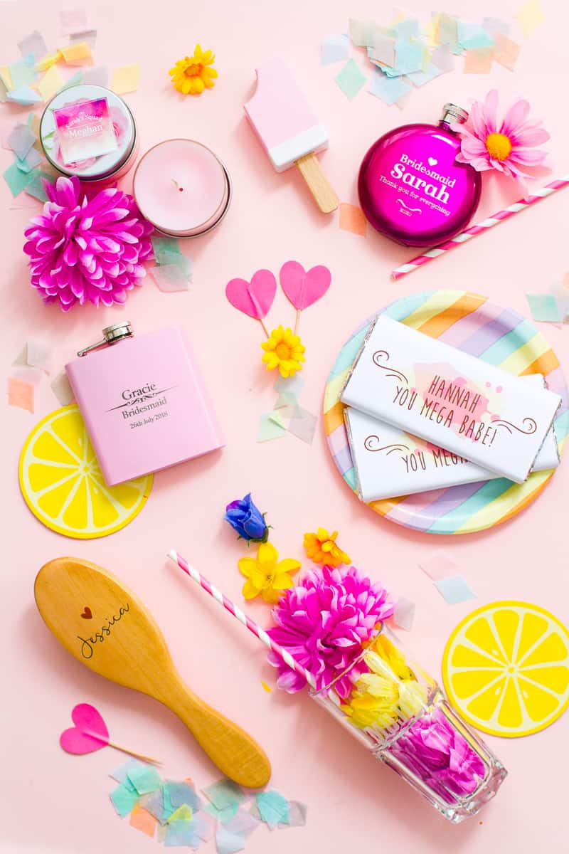 5 PERSONALISED GIFTS YOUR BRIDESMAIDS WILL LOVE! | Bespoke