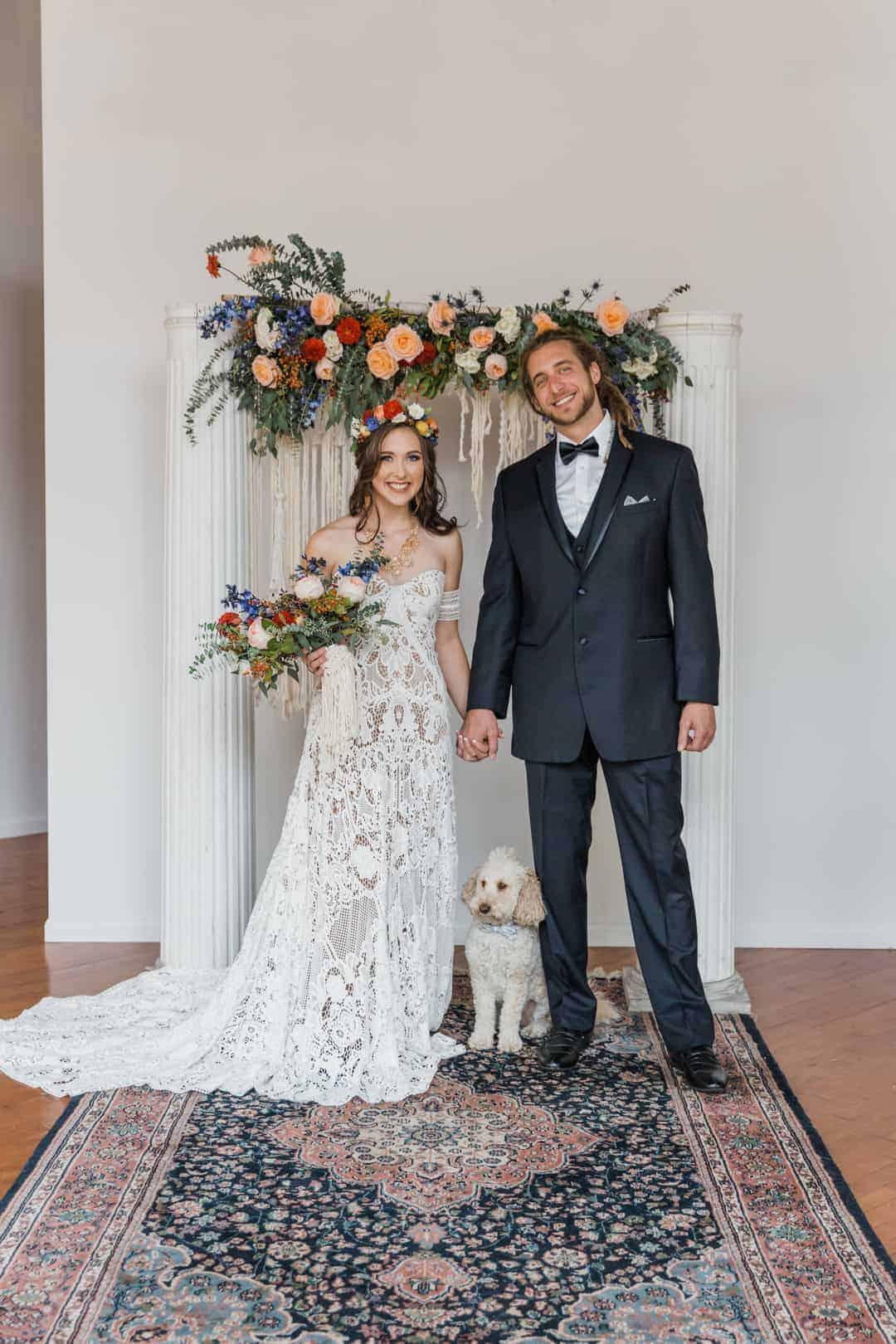 Bohemian Warehouse Elopement Bespoke Bride Wedding Blog