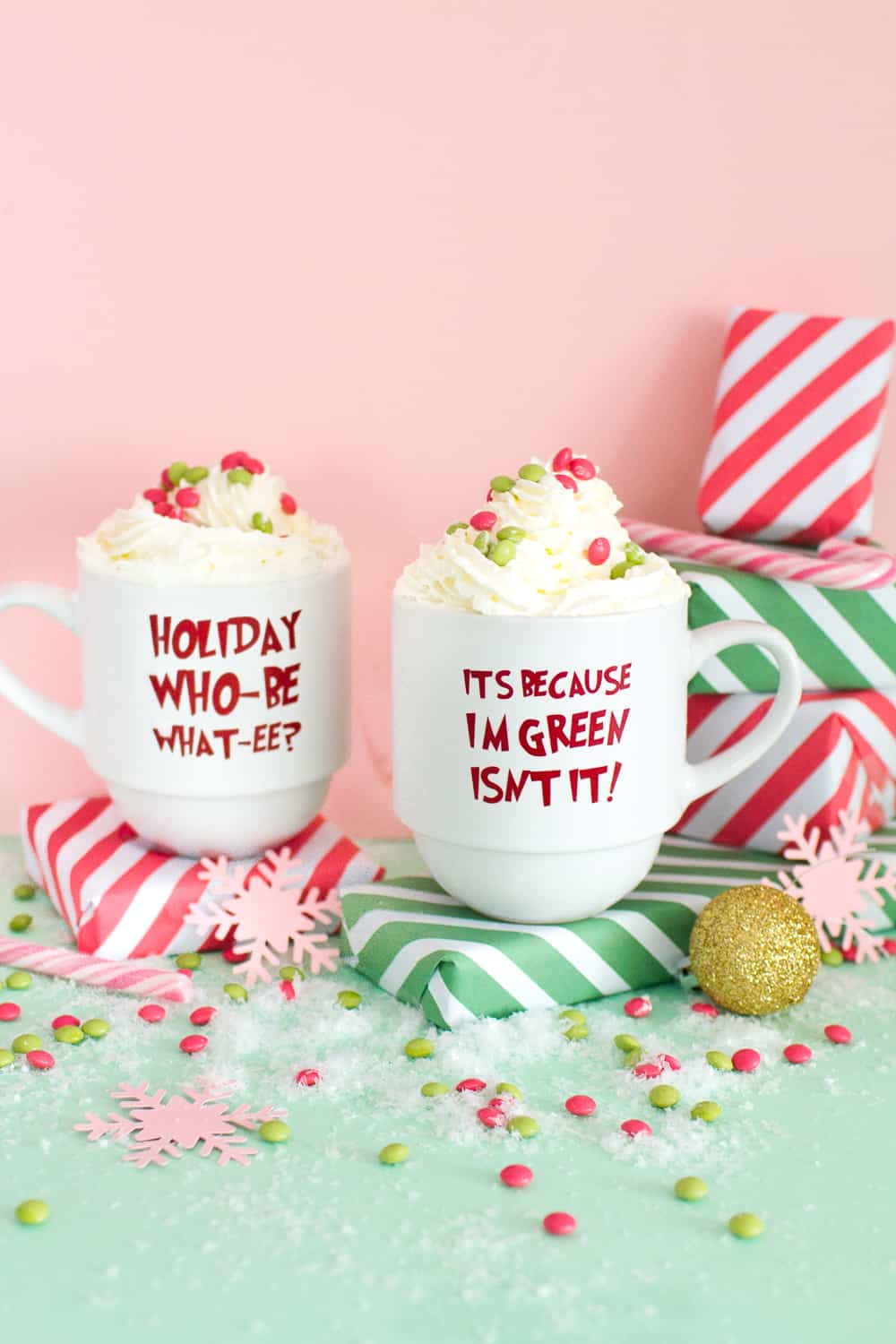 Grinch 2020 Christmas Quotes DIY GRINCH QUOTE GLASSES FOR A GRINCH THEMED CHRISTMAS MOVIE PARTY