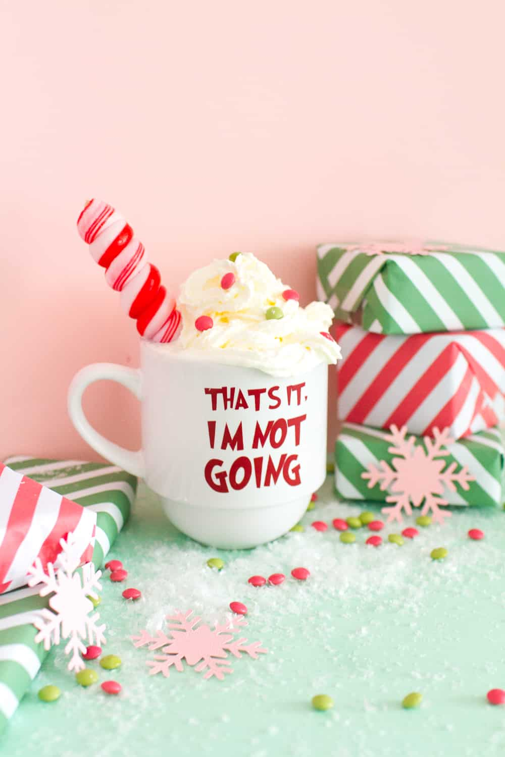 Diy Grinch Quote Glasses For A Grinch Themed Christmas Movie Party Bespoke Bride Wedding Blog