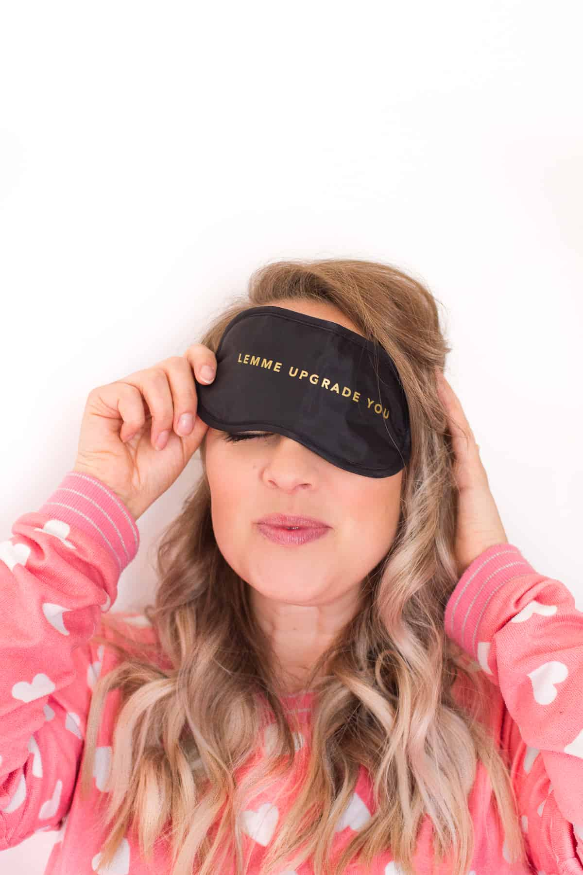 Survival Kit Party Favor WhiteGold Bachelorette Hangover Eye Mask Save on Sets Travel Sleep Mask Girl/'s Trip Feyonce Beyonce Eye Mask