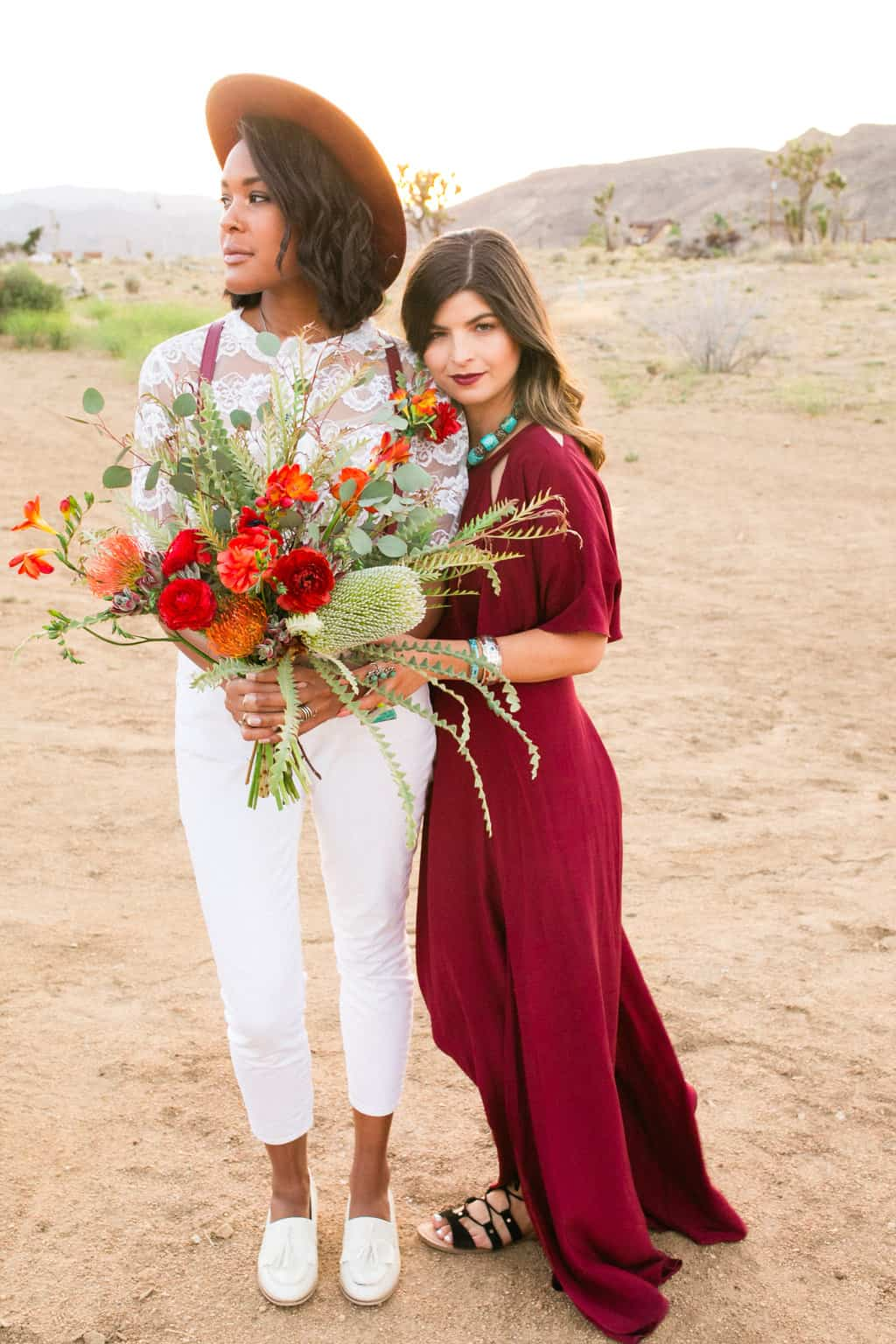 Not Sure Where To Elope We Ll Let These Pioneertown Wedding