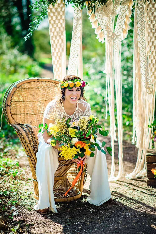 Romany Gypsy Bridal Inspiration Bespoke Bride Wedding Blog