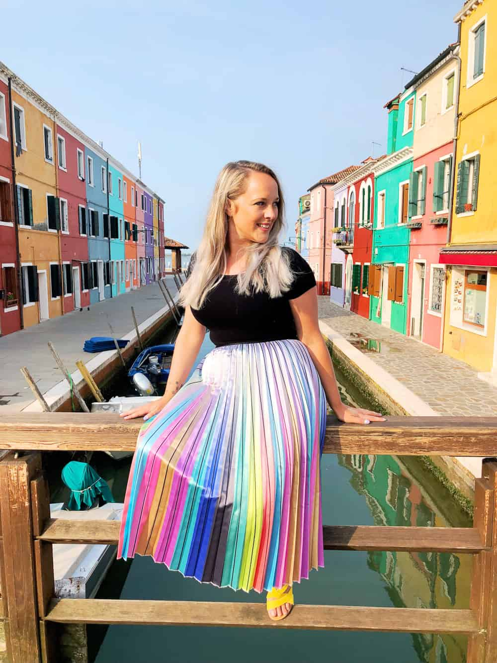 Emily S Classy Italian Hen Party In Burano Venice Bespoke Bride Wedding Blog
