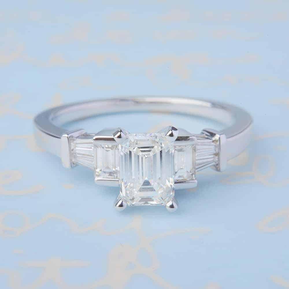 12 Multi Stone Engagement Rings Bespoke Bride Wedding Blog