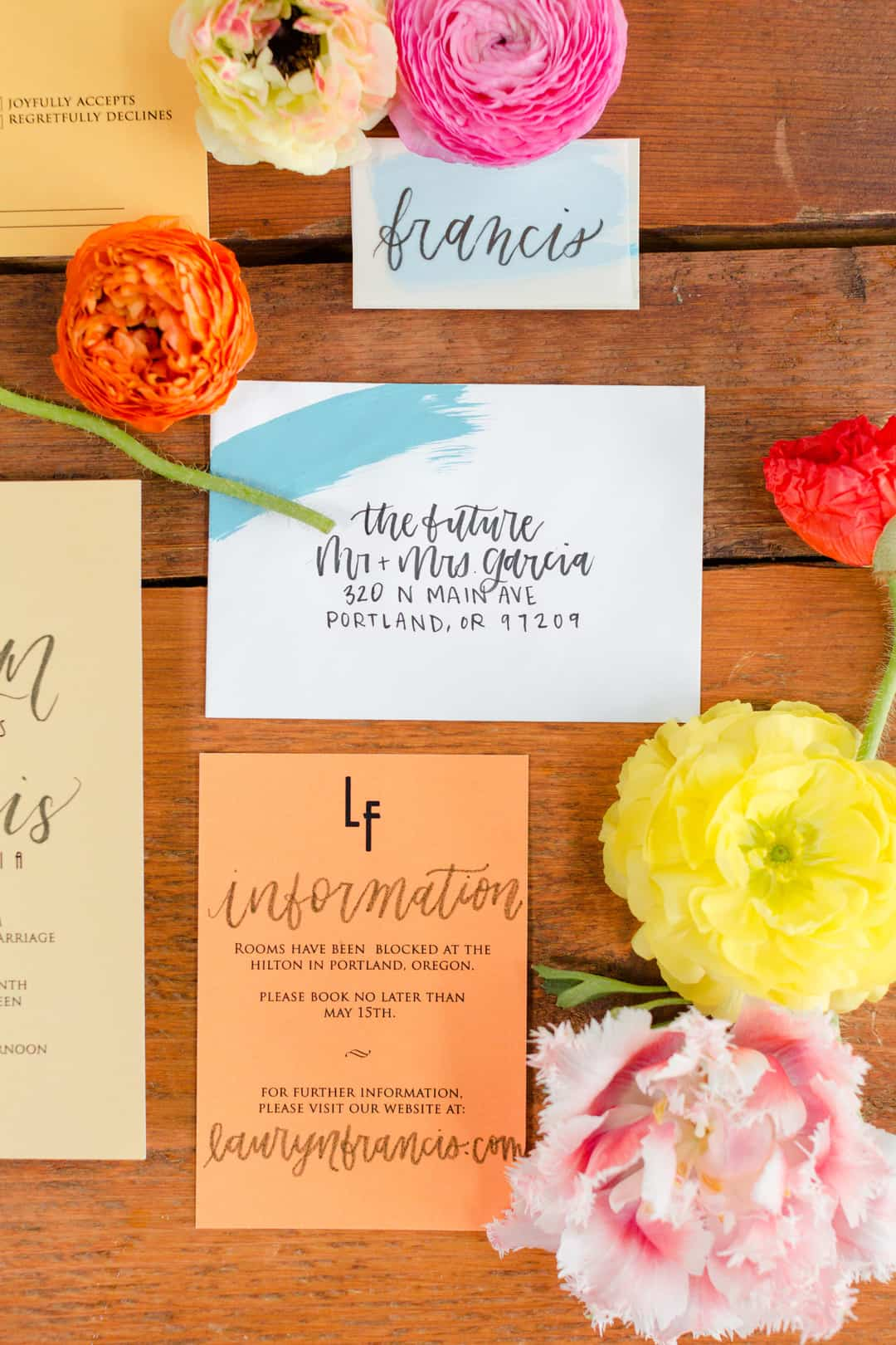 BRIGHT COLORFUL WEDDING IDEAS