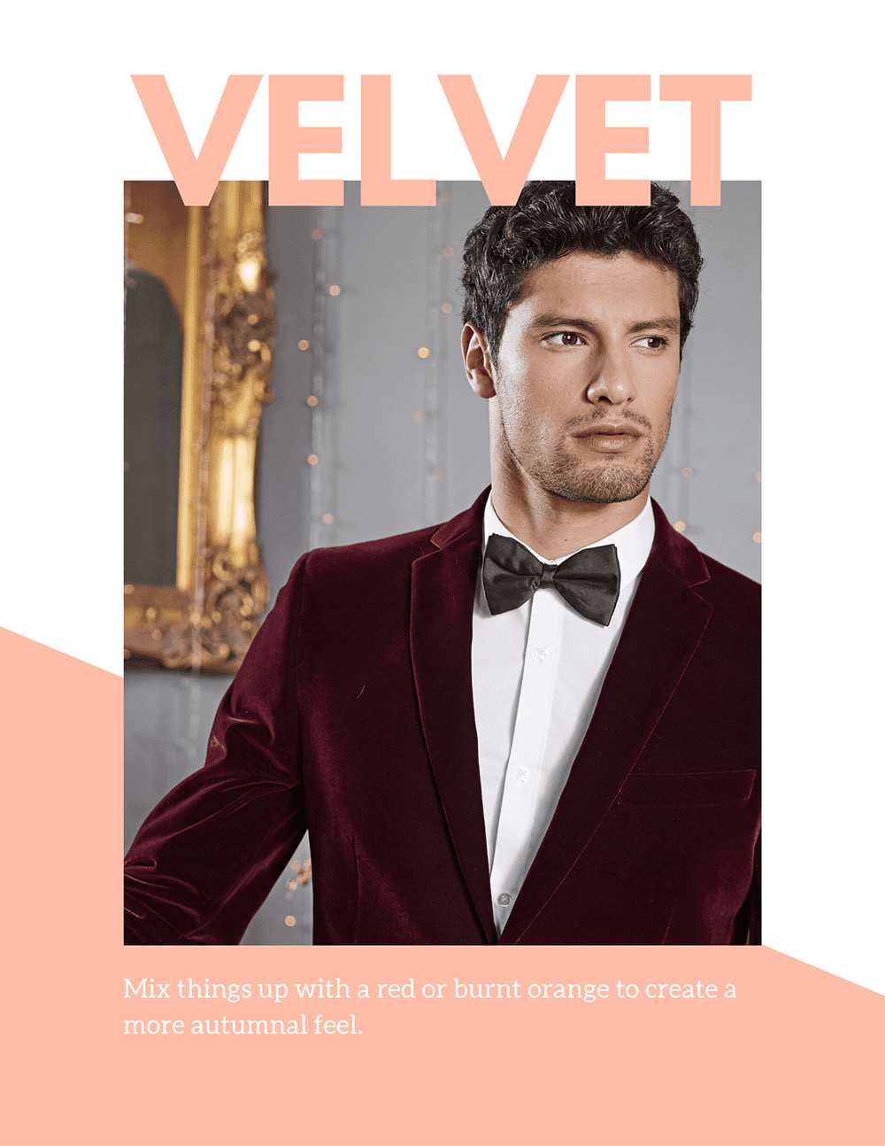 Velvent Mens Grooms Wedding Suit