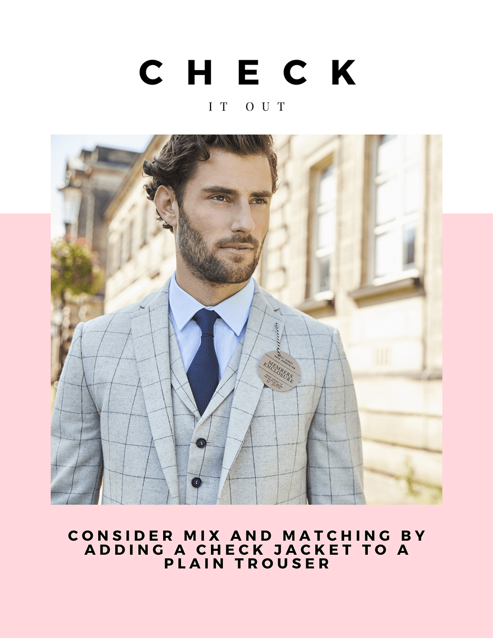 Mix n Match Groom or Mens Suit