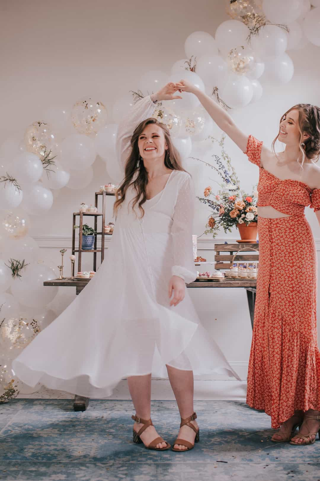 Pink Theme Flea Market Bridal Shower Bespoke Bride Wedding Blog