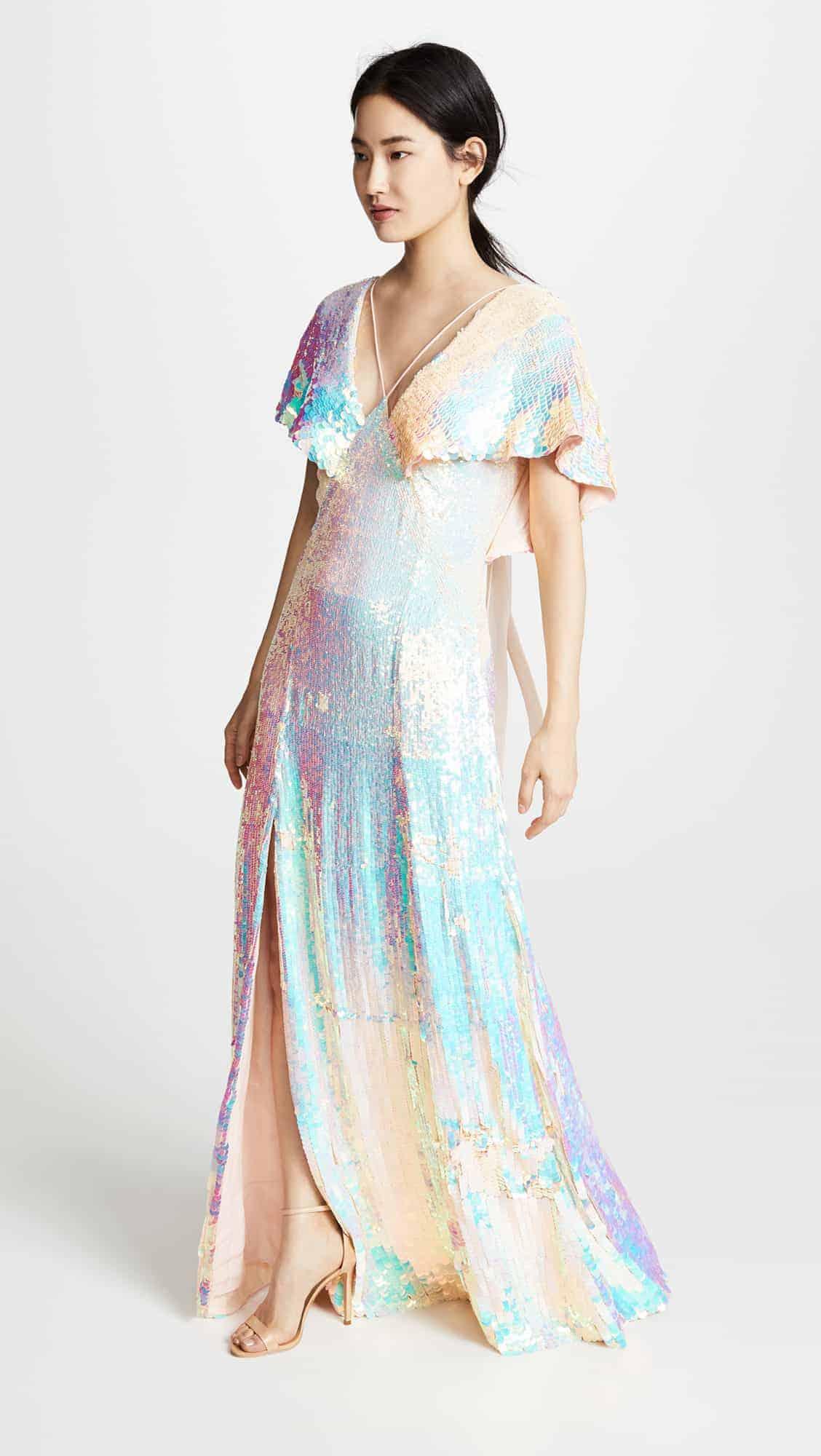 Temperley-bardot-sequin-galaxy-themed-wedding-dress