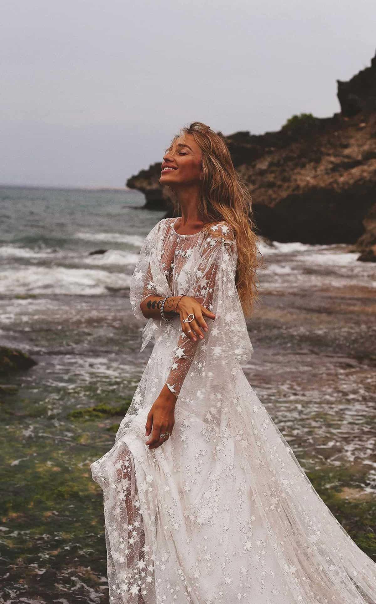 counting-stars-boho-vintage-galaxy-themed-wedding-dress
