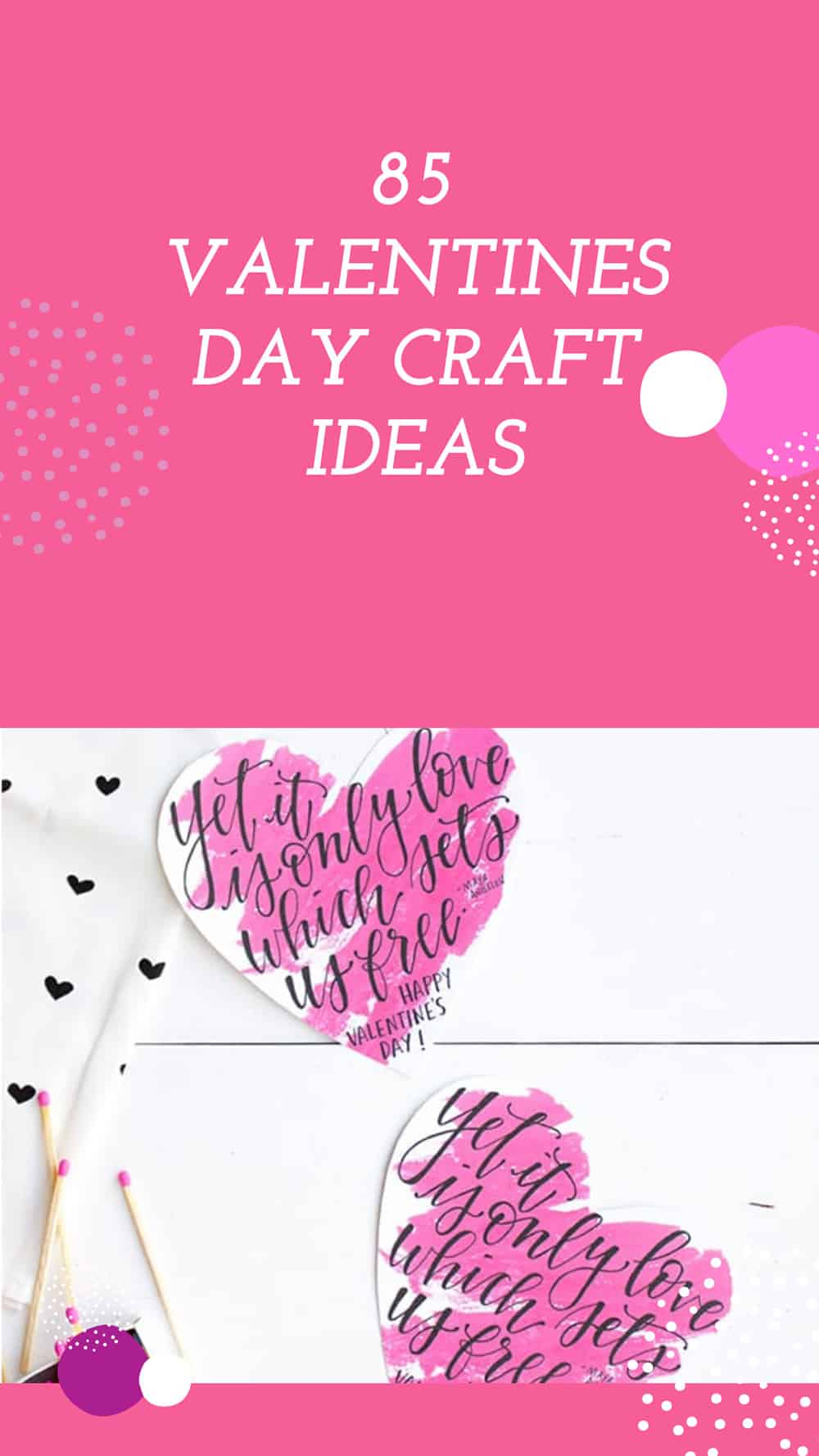 85 VALENTINES DAY CRAFT IDEAS PIN IT (2)
