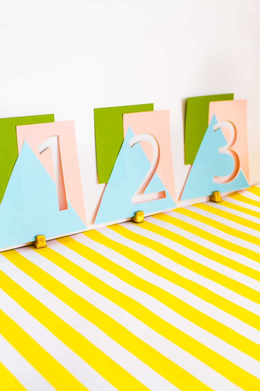 Geometric-DIY-Table-Numbers-Pastel-Fun-Colourful-Card-Make-Your-Own-Tutorial-Cricut-Project-wedding
