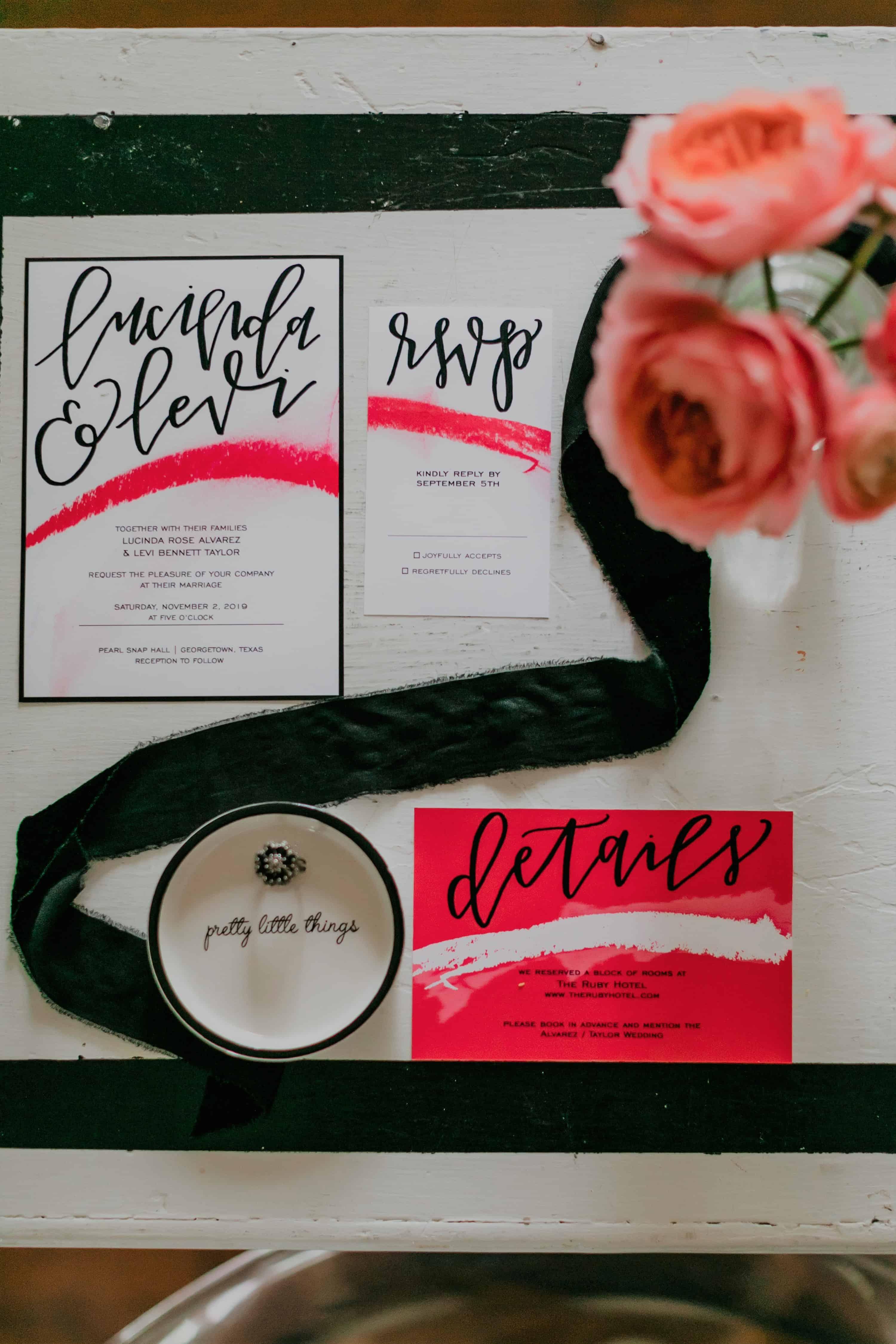 Black White Pop Art Wedding Ideas Bespoke Bride Wedding Blog