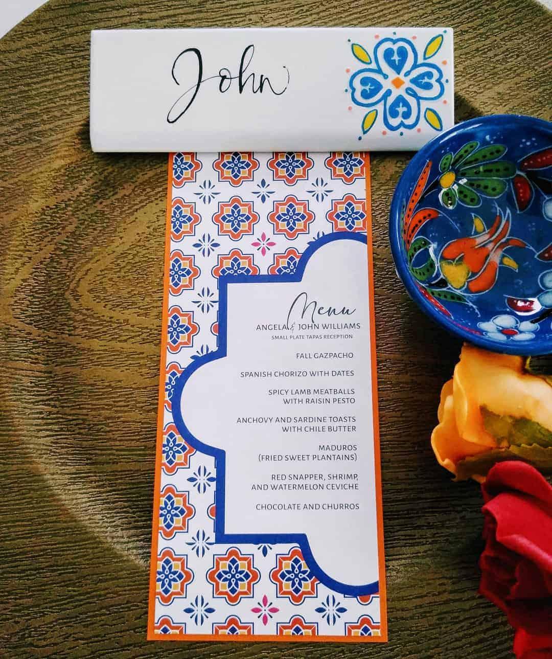 BEAUTIFUL WEDDING INSPIRATION FOR COUPLES WHO WANT TO CELEBRATE THEIR SPANISH CULTURE 26 - Ý TƯỞNG ĐÁM CƯỚI CHỦ ĐỀ TÂY BAN NHA |  Bespoke-Bride: Wedding Blog